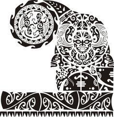 plantillas para tatuajes mayas brazaletes - Buscar con Google                                                                                                                                                                                 Más