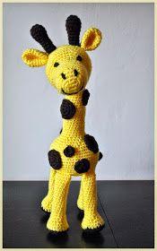 Háčkovánky: Háčkovaná žirafa