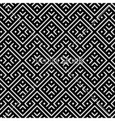 An elegant black and white pattern vector 1090143 - by Mirina on VectorStock®