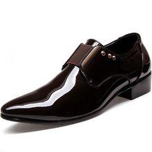 Novo estilo 2015 homens se vestem Sapatos outono inverno Casual Oxfords de negócios formais respirável Sapatos Masculinos homens Sapatos pretos 7 - 9(China (Mainland))