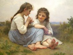 William-Adolphe Bouguereau:  Idyll Infantile, 1900, Oil on Canvas 130 X 120 cm Denver Art Museum