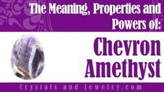 Chevron Amethyst:Meaning, Properties and Powers - The Complete Guide