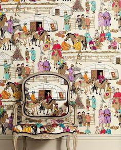 Hazara by Manuel Canovas.  Fabric and Wallpaper.
