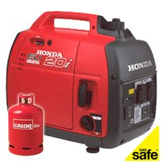 Honda EU20i low noise 2.0kw LPG suitcase inverter generator 240Vac
