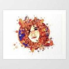 Sofi Mayen I @soysofimayen Art Print for sale by Rene Alberto - $17.68