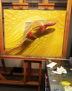 $till going on $trawberry Cutty ... #makingart #create #paintitbig #golds #wisdom #makeyourmove #admaddox www.admaddox.com