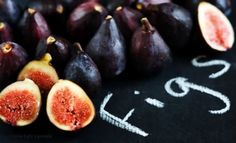 figs displayed on Chalkcloth!