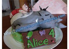 Amazing Totoro Cake!