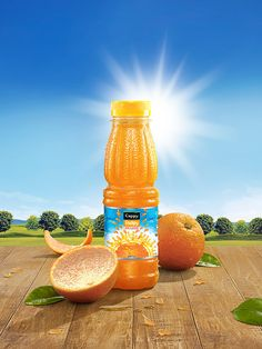 Minute Maid on Behance Food Poster Design, Creative Poster Design, Ads Creative, Creative Posters, Visual Advertising, Creative Advertising, Advertising Design, Product Advertising, Social Media Poster