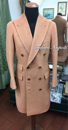 Piacenza cashmere double breasted coat. Sartoriatofani@gmail.com