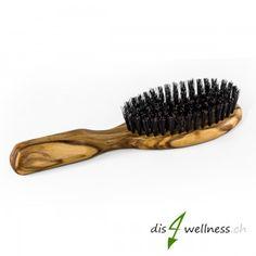 Redecker Holzhaarbürste mit Wildscheinborsten klein Hair Roots, Pigs, Taschen, Nice Asses