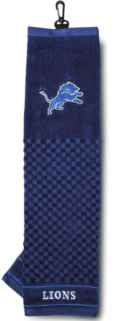 NFL Detroit Lions Embroidered Golf Towel