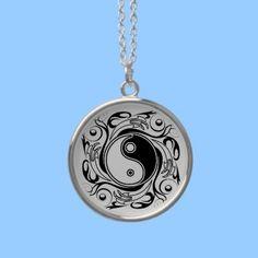 Yin & Yang Symbol Necklace