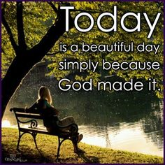 It's a Beautiful day Morning Everyone :)