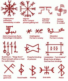 Another Nordic Rune sheet if anyone would like it!