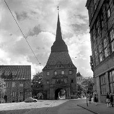 Historisches Rostock, Steintor, Archiv Helmut Aude