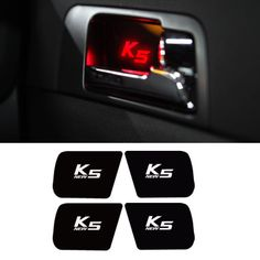 RGB LED INTERIOR CAR DOOR HANDLE SIDE TRIM COVER For KIA 2014-15 New Optima (K5) #bricx