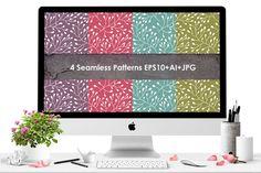 Floral seamless pattern. by Smotrivnebo on Creative Market
