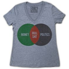 Money Politics Tee Women's now featured on Fab.