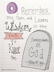 "Life's Journey To Perfection: ""Ponderize"" Week 15: Alma 37:35"