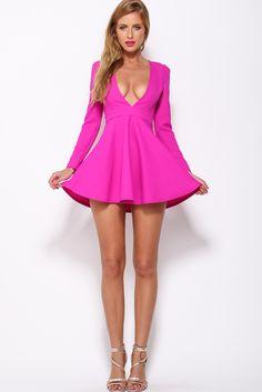 Future Hearts Dress, Fuchsia, $65 + Free express shipping http://www.hellomollyfashion.com/future-hearts-dress-fuchsia.html