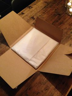 t-shirt packaging - folding box