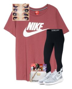 """nike #3"" by hhaileyyyy ❤ liked on Polyvore featuring NIKE, nike and hhaileyyyy"