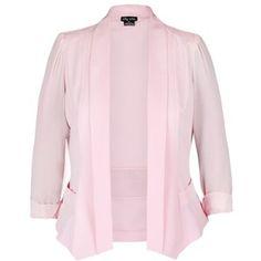 City Chic Drapey Blazer Jacket