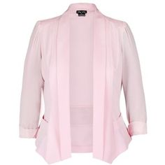 City Chic Drapey Blazer Jacket