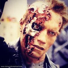 We can't fake it just make it! #t2 #terminator #arnold #arnoldschwarzenegger #stanwinstonstudio #animatronics #puppets #behindthescenes #moviemagic #hollywood #practicaleffects #specialeffects #makeupeffects #spfxmakeup #prosthetics #bts #sws #picoftheday