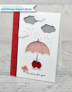 Splotch Design - Jacquii McLeay Independent Stampin' Up! Demonstrator: Weather Together Compassionate Card