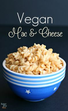 Creamy Vegan, dairy free and gluten free better than boxed homemade macaroni and cheese SuperGlueMom.com