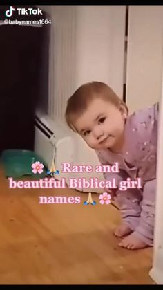 Cute Baby Girl Names, Unique Baby Names, Cute Funny Babies, Cute Kids, Pretty Names, Cute Names, Kid Names, Future Mom, Cute Baby Pictures