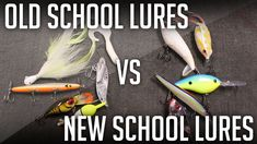 Which Is Better? OLD SCHOOL Lures vs NEW SCHOOL Lures!?    Bass Fishing Lures