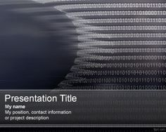 Free Bioinformatics PowerPoint Template