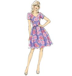 B5982 | Misses'/Misses' Petite Dress and Belt | Dresses | Butterick Patterns