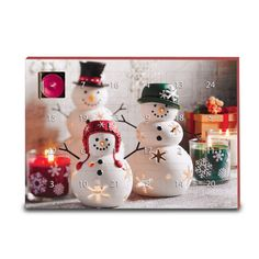 $25 for this amazing Advent Calendar - burn a tealight each day to signify your journey to Christmas.  Various holiday scents and a beautiful picture of our Snow Family.  Get yours now at www.partylite.biz/jenilluminates