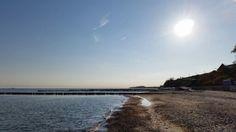 Sonnigen guten Morgen aus dem #Ostseebad #Nienhagen. #Frühling #Sonnenaufgang #Ostsee