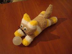 DIY Sock Kittens - free pattern