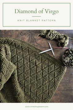 Knitting Stitches, Knitting Patterns Free, Knit Patterns, Baby Knitting, Stitch Patterns, Blanket Patterns, Knitting Yarn, Knitted Afghans, Knitted Blankets