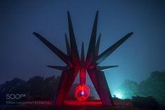 Red Burning Portal by eetschman