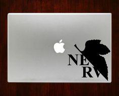 "Neon Genesis Evangelion Decal Sticker Vinyl For Macbook Pro/Air 13"" Inch 15"" Inch 17"" Inch Decals Laptop Cover"