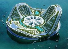 Плавающие города будущего распустятся лилиями.... Обсуждение на LiveInternet - Российский Сервис Онлайн-Дневников