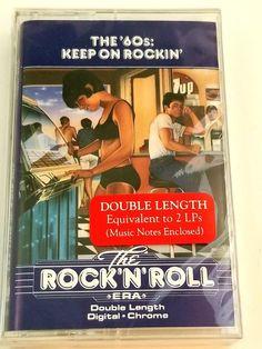 "The Rock'N'Roll Era ""60s Keep On Rockin' Music Cassette Time Life  #RocknRoll Time Life Music, Rockn Roll, Keep On, Music Notes, Lps, The Rock, Digital, Sheet Music, Song Lyrics"