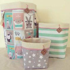 Imagen relacionada Casa Kids, Fabric Boxes, Hamper, Felt Crafts, Diy Paper, Ideas Para, Diaper Bag, Projects To Try, Basket