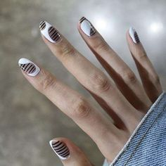 Phenomenal 200+ Minimalist Nail Art Ideas https://fazhion.co/2017/04/01/200-minimalist-nail-art-ideas/ If you prefer something simple, try out this nail design. It is a really different sort of nail art design, but it isn't too much