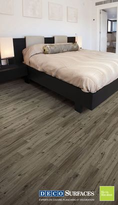 1000 images about planchers vinyle on pinterest vinyl flooring vinyl planks and vinyls. Black Bedroom Furniture Sets. Home Design Ideas