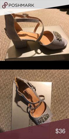 cb988f8f2b2b Girls dress shoes. WORN ONCE! Beautiful girls wedges size youth 5 ...