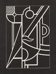 """Roy Lichtenstein """"Modern Head 3"""" : Lot 82"""