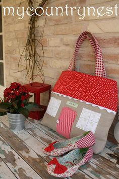 My country nest: cucito creativo_and another cutie bag